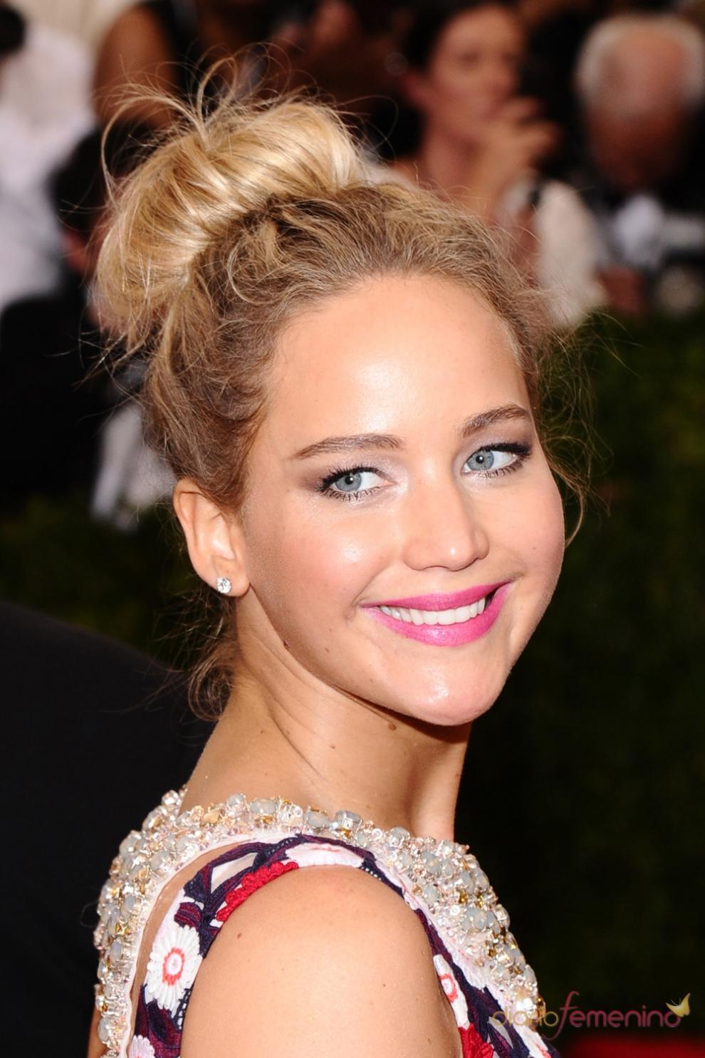 MET Gala 2015: Jennifer Lawrence, clásica y sencilla