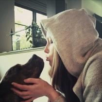 Perros famosos: Tina, de Jessica Biel