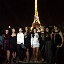 París: la despedida de soltera de Kim Kardashian
