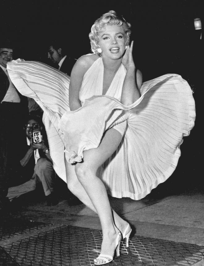 La foto más icónica de Marilyn Monroe