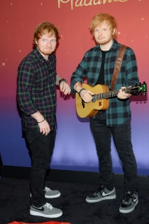 Ed Sheeran, el gemelo de cera