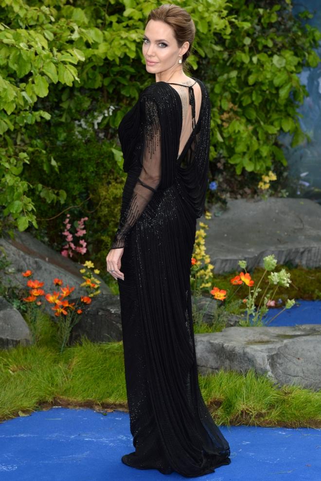 Angelina Jolie, elegante y sofisticada