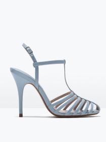 Sandalias con tacón de Zara: una opción para eventos