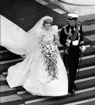 Lady Di y Carlos de Inglaterra, una boda que inspiró a otras