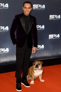 Perros de famosos: Roscoe, el perro de Hamilton