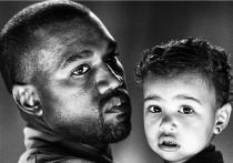 Kanye West y North West, dos gotas de agua en el Instagram de Kim Kardashian