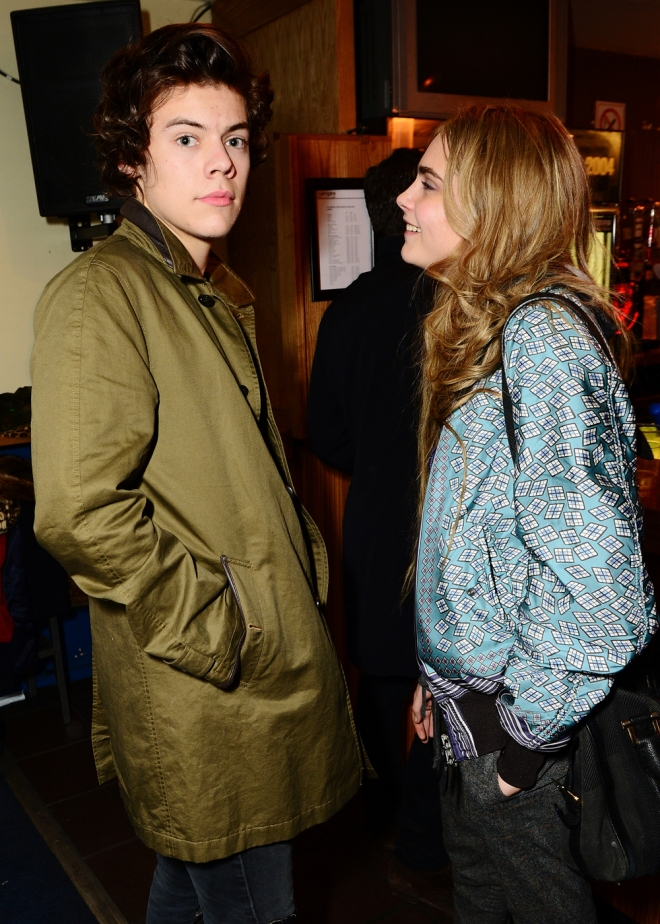 Cara Delevingne Tambien Estuvo Saliendo Con Harry Styles