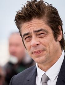 Benicio del Toro, siempre con ojeras