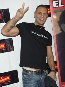 Nacho Vidal, actor porno y siempre divertido