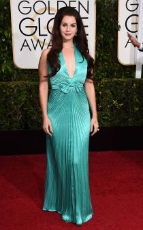 Lana del Rey no acertó con su look en los Oscars