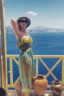 Posado de verano: Katy Perry, vacaciones en Grecia