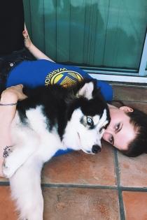 Perros de famosos: Kota, el perro de Ireland Baldwin