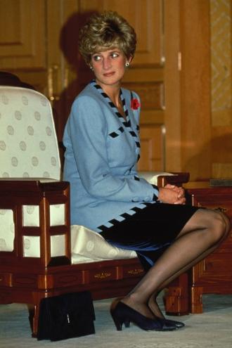 Lady Di tuvo looks típicos de los años 80