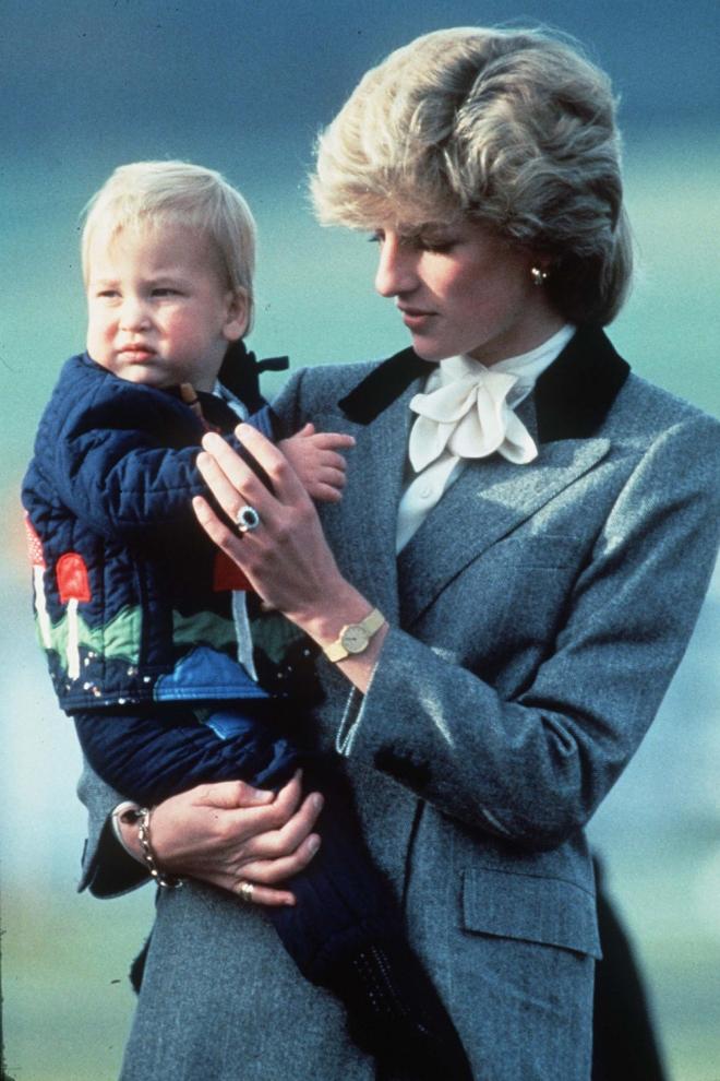 Lady Di, una madre entregada con los hijos que tuvo con Carlos de Inglaterra
