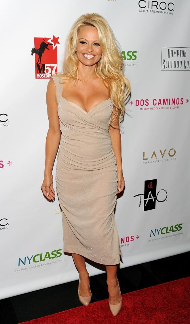 Pamela Anderson, la eterna reina del escote
