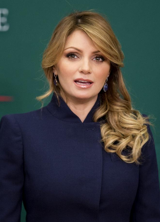 La ex actriz de telenovela Angélica Rivera, un icono en México