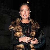 Lindsay Lohan y sus looks siempre excesivos