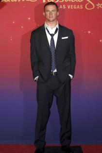 Channing Tatum, un doble de cera estupendo