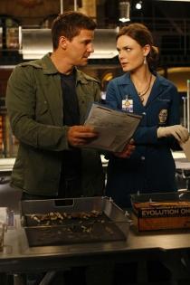 Parejas de series: Booth y Brennan en Bones