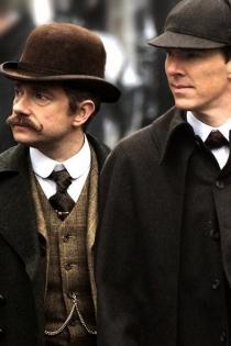 Parejas de series: Sherlock Holmes y John Watson en Sherlock