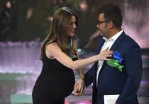 Raquel Sánchez Silva, con Jorge Javier Vázquez en Supervivientes