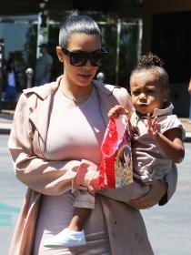 North West, una niña más famosa que Kim Kardashian