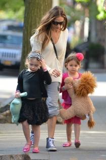 Niños famosos: las gemelas de Sarah Jessica Parker
