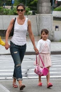 Suri Cruise, la hija de Katie Holmes que es toda una celebrity