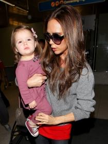 Harper Seven, la niña celebrity de David y Victoria Beckham
