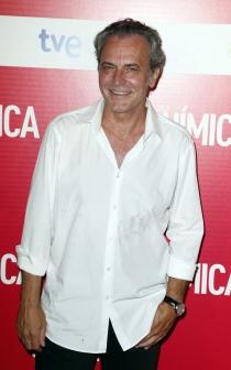José Coronado, feliz en el estreno de Solo Química