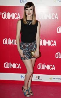 Los actores españoles apoyaron el estreno de Solo Química