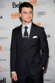 Daniel Radcliffe, hecho un pincel