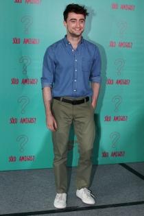 Daniel Radcliffe, look casual