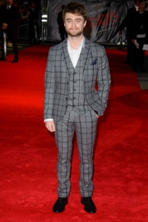 Daniel Radcliffe, elegante y sofisticado