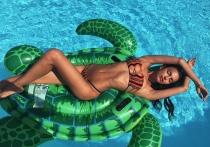 Posados de verano: el tipazo de Irina Shayk