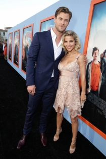 Parejas celebrities: Elsa Pataky y Chris Hemsworth