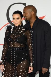Kim Kardashian y Kanye West, poderosa pareja celebrity