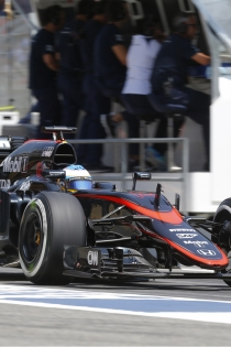 Fernando Alonso, lucha constante