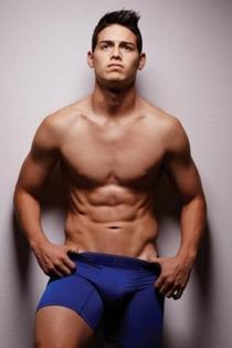 Famosos sexys: James Rodríguez para Bronzini Black