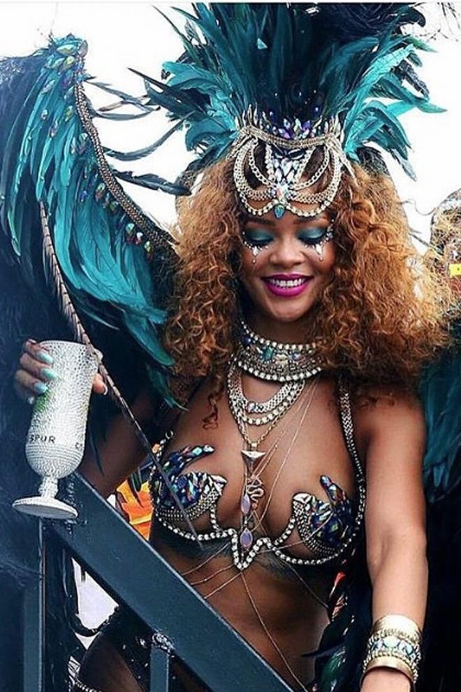 Rihanna, la reina del carnaval