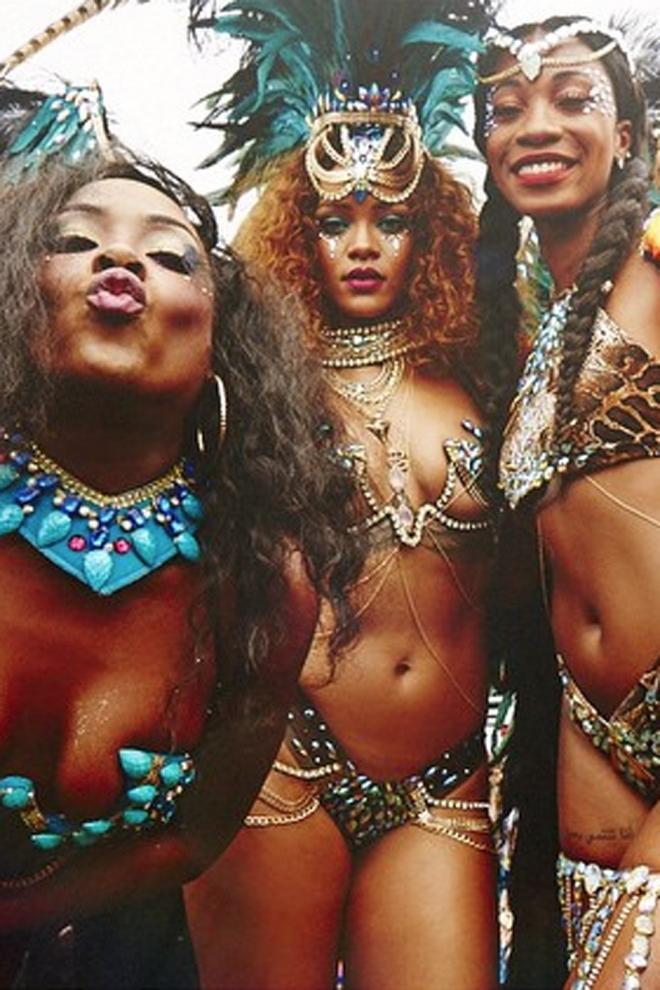 Rihanna, en buena compañía