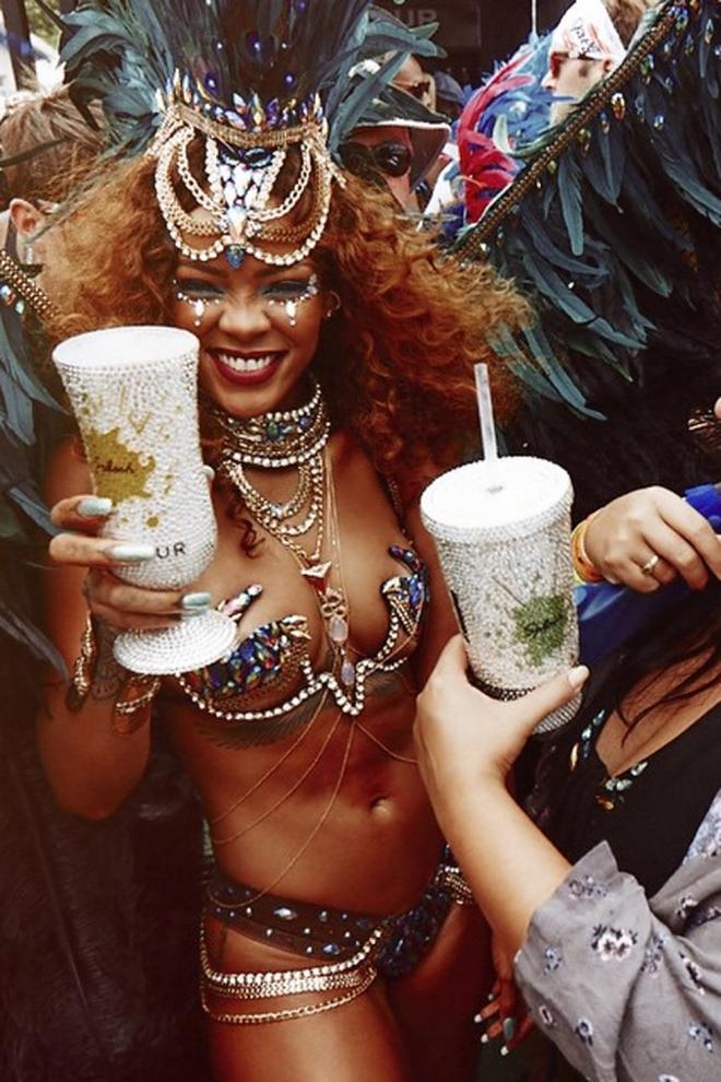 Rihanna, el alma de la fiesta