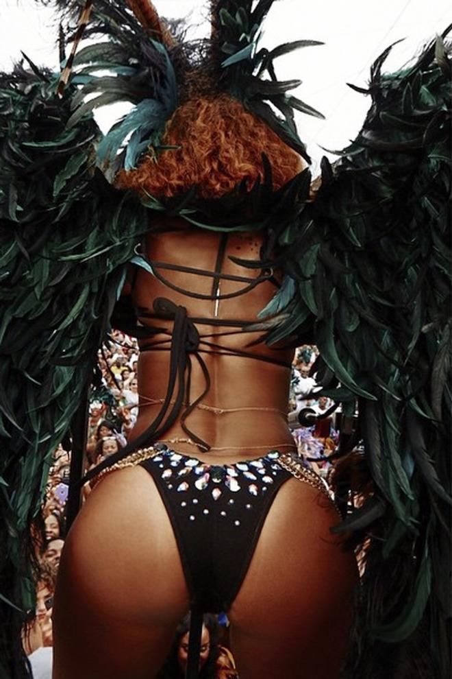 El cuerpazo de Rihanna