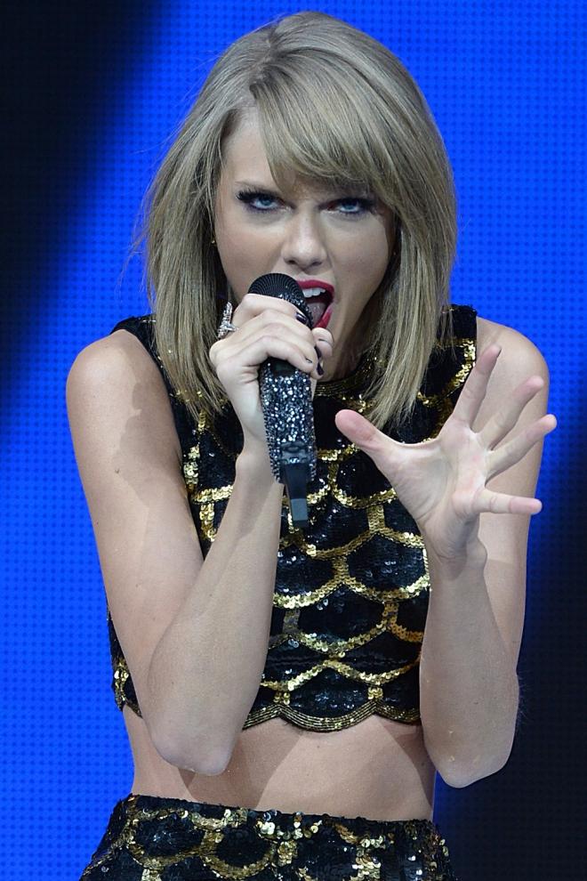 Accidentes en conciertos: El diente de Taylor Swift