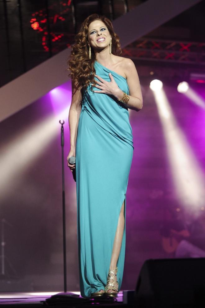 Accidentes en conciertos: Pastora Soler, desmayo en directo