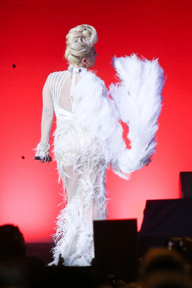 Accidentes en concierto: La caída de Lady Gaga