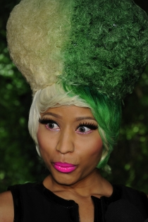 Pelo de colores: Nicki Minaj, la reina del color