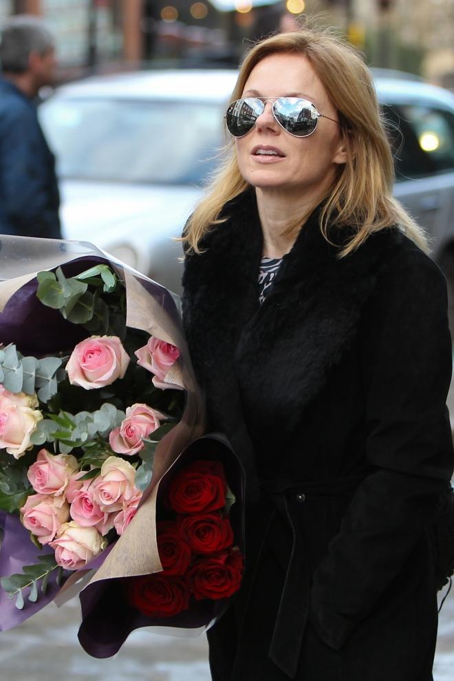 Geri Halliwell, pasión por las flores