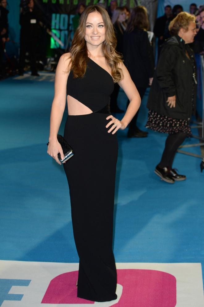 Olivia Wilde, muy elegante