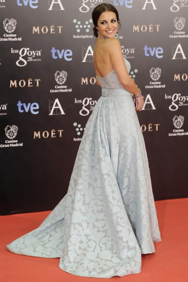 Paula Echevarría, la reina de la red carpet